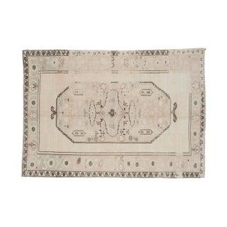 "Vintage Oushak Carpet - 6' x 8'4"""