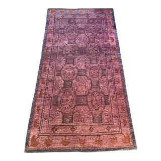 "Over Dyed Vintage Persian Rug - 84"" x 46"""