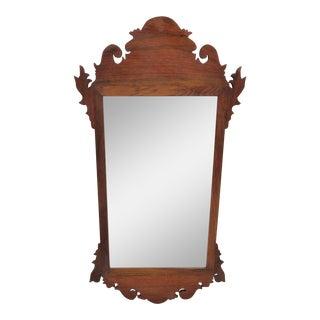19th Century Walnut Chippendale Mirror