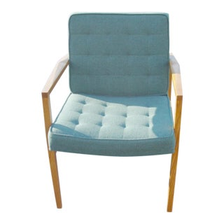 Knoll Vincent Cafiero Sage Green Lounge Chair