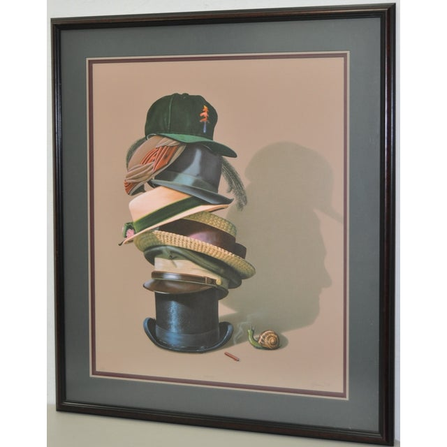 Image of Impressive Contemporary Lithograph by G. Brown