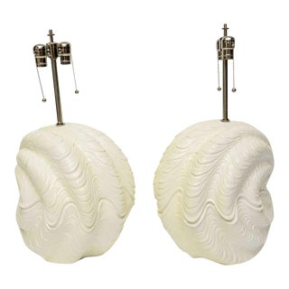 Serge Roche Shell Lamps, Oversized from the 60s