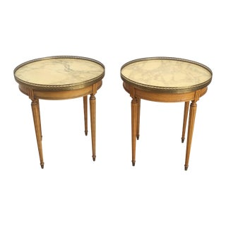 Italian Side Tables - A Pair