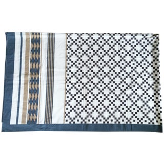 Patterned Neutrals Table Cover