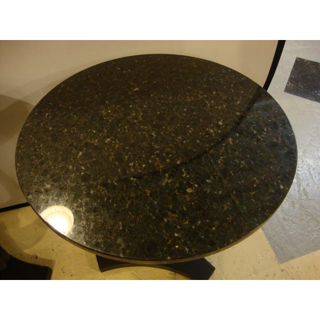 Art Deco Ebony Based End Tables - A Pair - Image 7 of 9