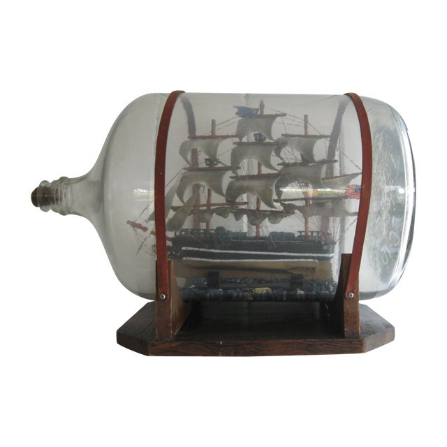 Ship in a Bottle - Image 1 of 6