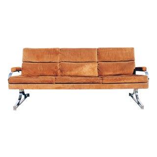 Patrician Furniture Mid-Century Camel Sofa