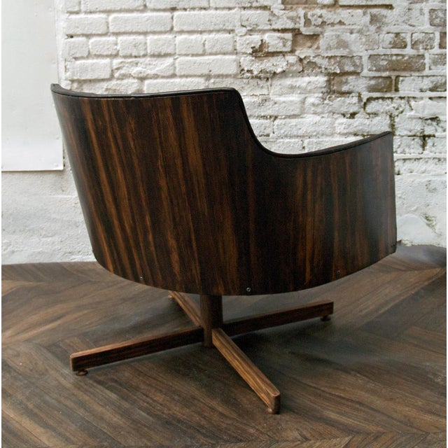 Gucci-Style Swivel Chair - Image 5 of 9