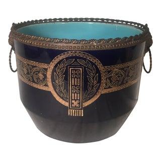 Cobalt Blue Porcelain Jardiniere