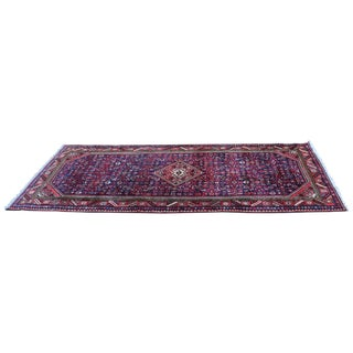 Hand Knotted Persian Wool Area Rug 5′ × 10′