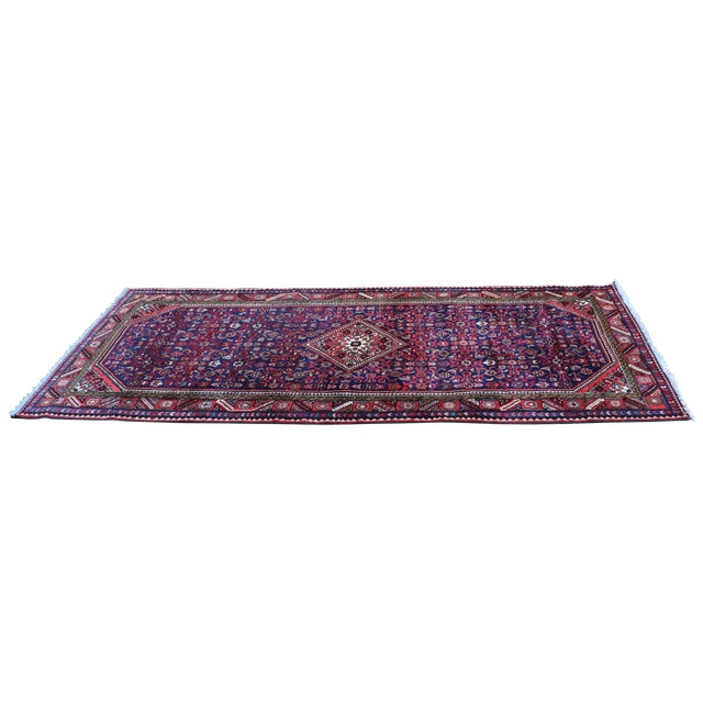 Hand Knotted Persian Wool Area Rug 5′ × 10′ - Image 1 of 5