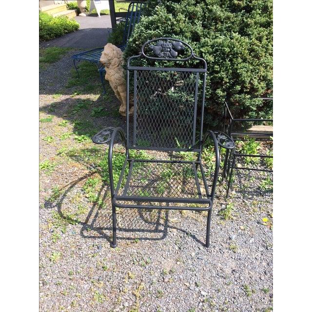 Image of Vintage Outdoor Woodard Armchair