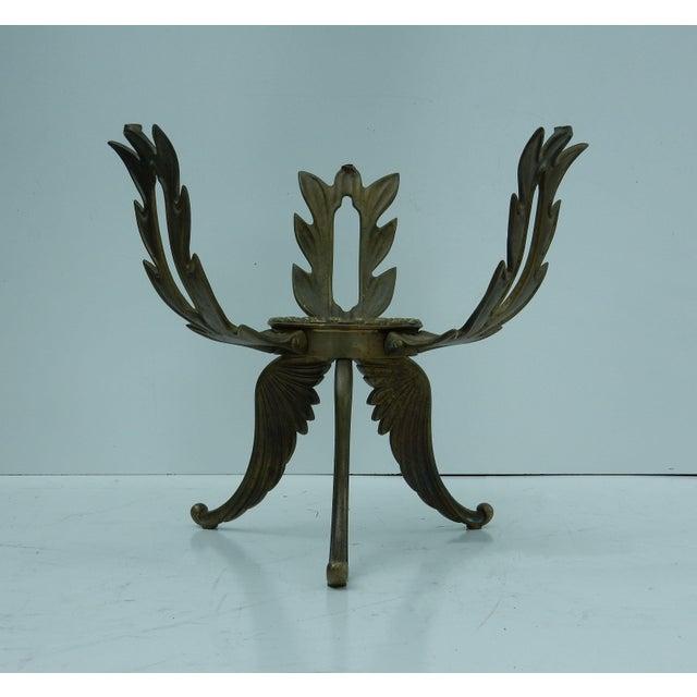 1950s V.L. Viar Bronze & Glass Coffee Table - Image 5 of 8
