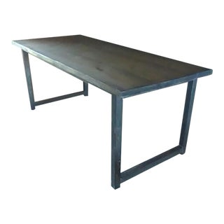 Big Industrial Style Table