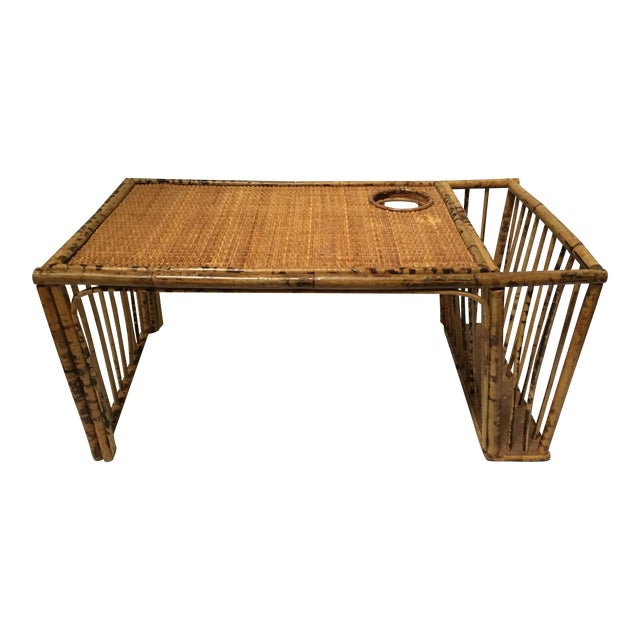 Rattan Serving Bed Tray - Image 1 of 9