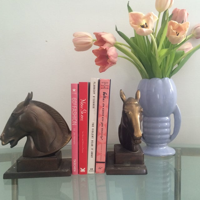 Brazen Horse Bookends - A Pair - Image 5 of 11