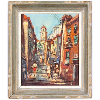 European City Streets Painting