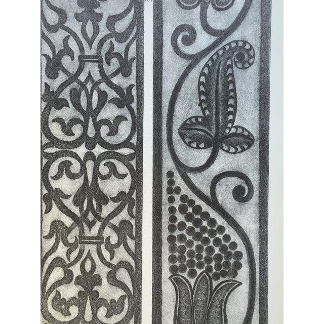 English Woodcarving Photo-Tint - Image 3 of 5