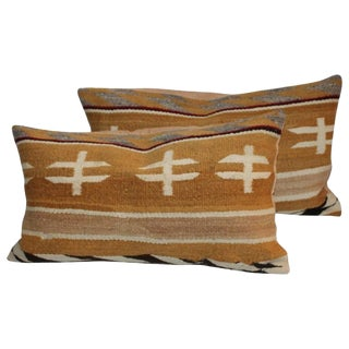 Chinlie Navajo Weaving Bolster Pillows