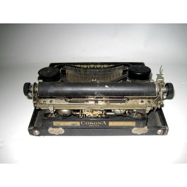 Corona Art Deco Typewriter - Image 4 of 7