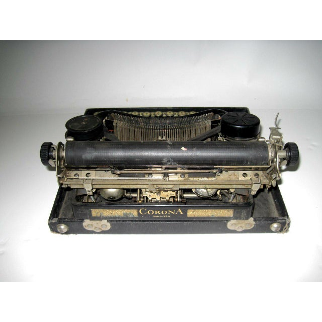 Image of Corona Art Deco Typewriter