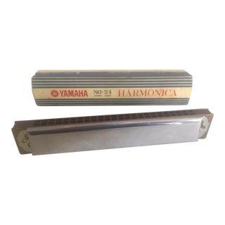 Vintage Yamaha Harmonica in 'C'
