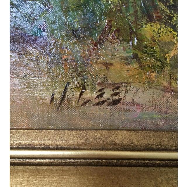 """Montana Artist Joyce Lee """"Practice Loop"""" Original Painting - Image 6 of 9"""