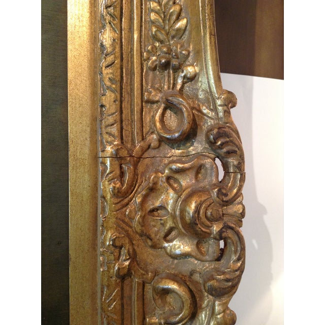 Large Floral Oil Painting in Ornate Gilded Frame - Image 10 of 10