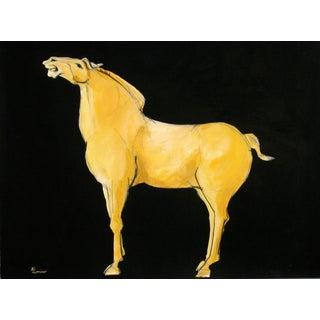 Sienna Tang Horse IV Painting by Heidi Lanino