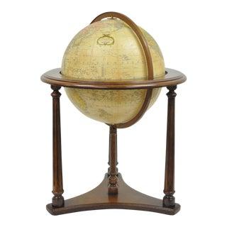 "Replogle Lafayette Illuminated 16"" Floor Heirloom Globe Antique Msrp $1072.95"