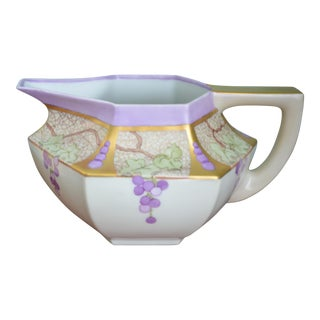 French Limoges Arts & Crafts Pitcher