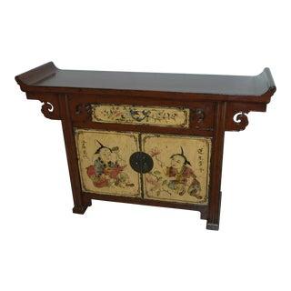 Antique Mongolian Sideboard