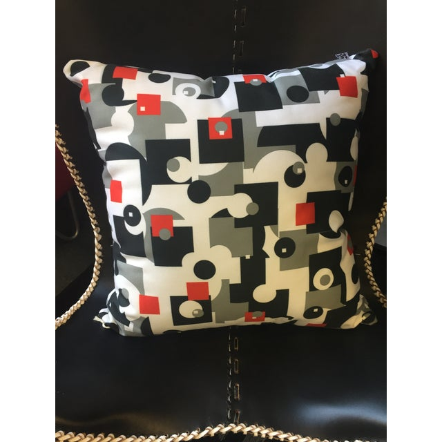 Mid-Century Style Throw Pillow - Image 3 of 4