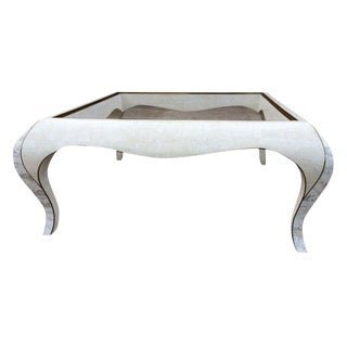 Maitland-Smith Tessellated Stone Coffee Table