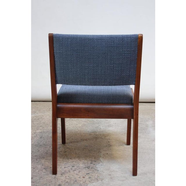 Set of Six Walnut Dining Chairs by Jens Risom - Image 7 of 11
