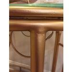 Image of Hollywood Regency Gold Bar Cart