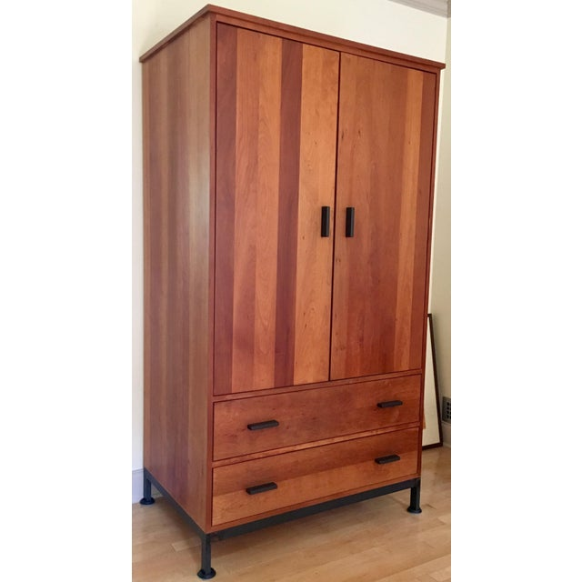 Image of Room & Board Linear Storage Armoire