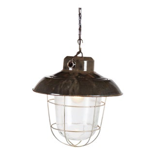 Industrial vintage factory hanging lamp