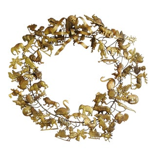 Vintage Petites Choses Dresden Holiday Christmas Wreath