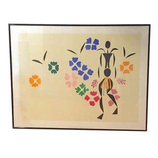 Mid Century Matisse La Negresse Modern Print