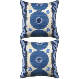 Lee Jofa Emir Ikat Accent Pillows - Pair