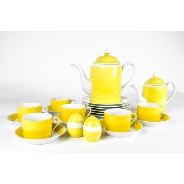 Vintage Lemon Porcelain Luncheon Service - Image 11 of 11