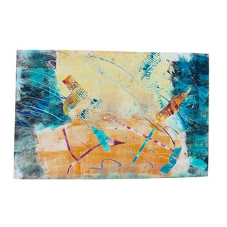 Abstract Kites Mono Print by Martha Holden
