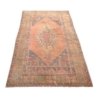 Vintage Anatolian Rug - 4′5″ × 7′4″