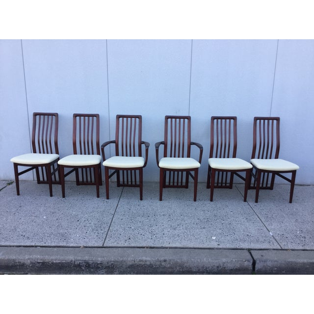 Danish Modern Dining Chairs - Set of 6 - Image 3 of 11