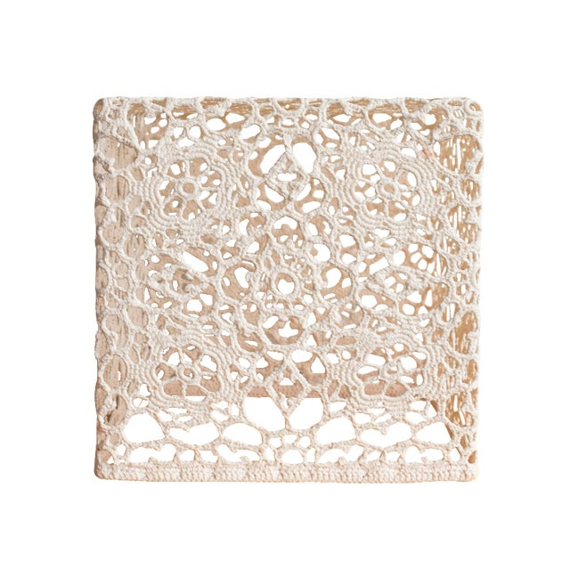 Marcel Wanders Crochet Table Cube - Image 1 of 6