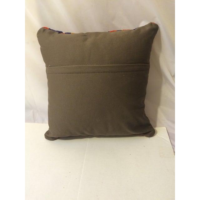 Antique Turkish Kilim Pillows - Pair - Image 5 of 8