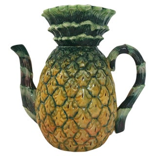 Pineapple Pitcher and Lid
