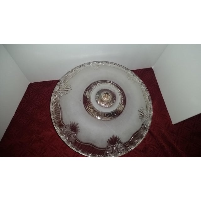 Victorian Style Chandelier Ceiling Fixture - Image 4 of 7
