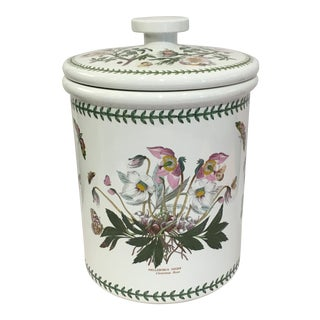 Portmeirion Large Ceramic Lidded Crock